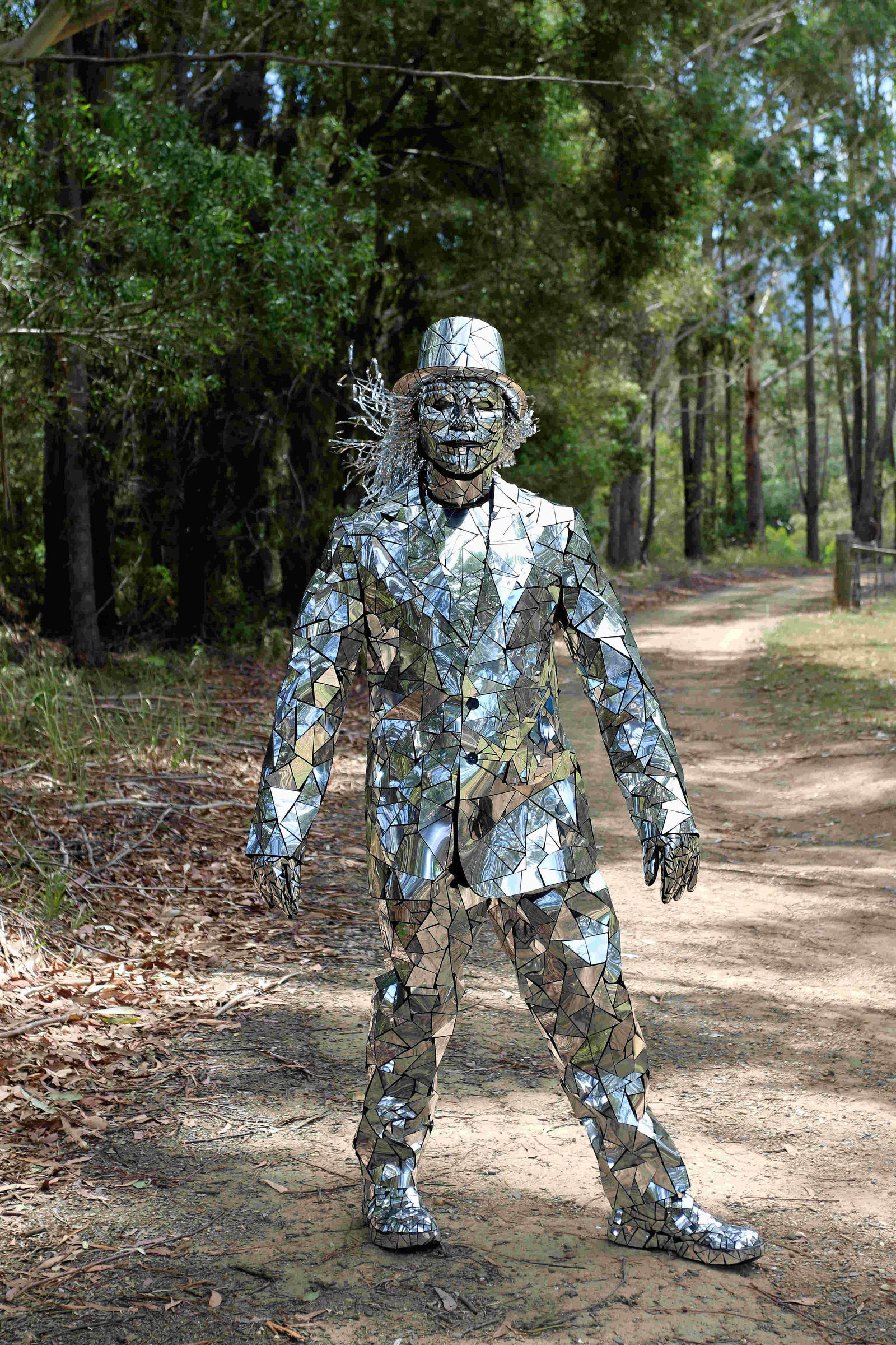 Mirror man costume I made for NYE by Davenwolf