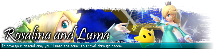 Rosalina and Luma Signature SSB4 by SimpleDerk