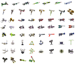 Splatoon weapon icons