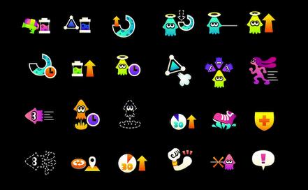 Splatoon ability icons