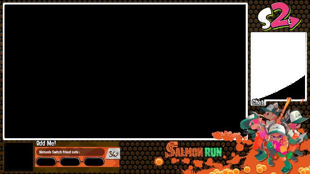 Splatoon 2 Salmon Run overlay