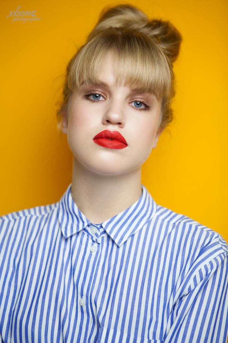 P.K yellow portrait I. by xxbone