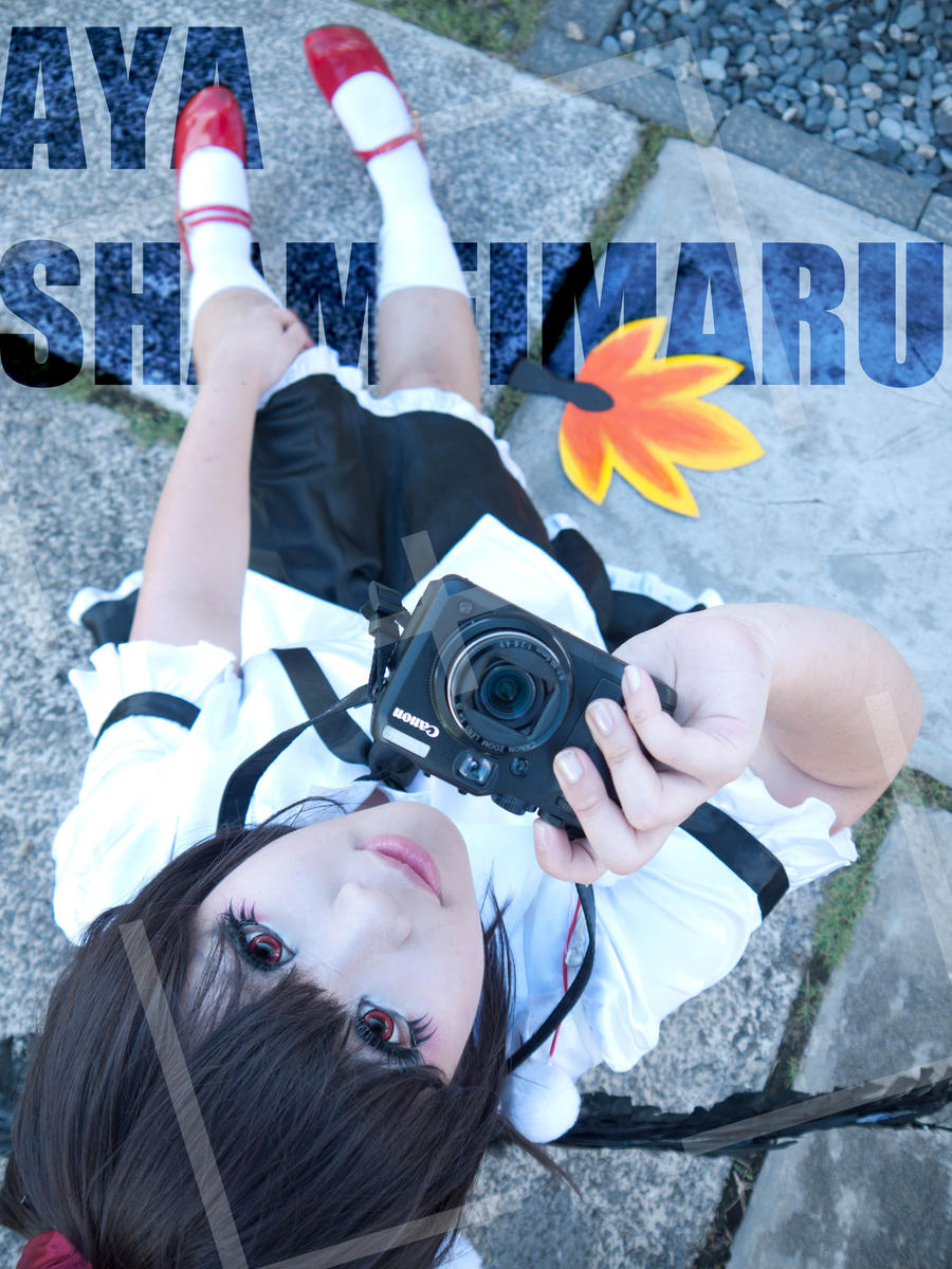 Aya Shameimaru 2 by kazeko