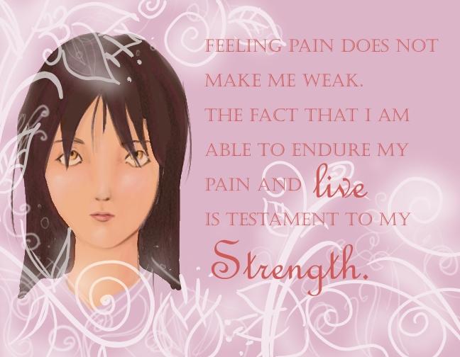 Gentle Strength by julsenix23