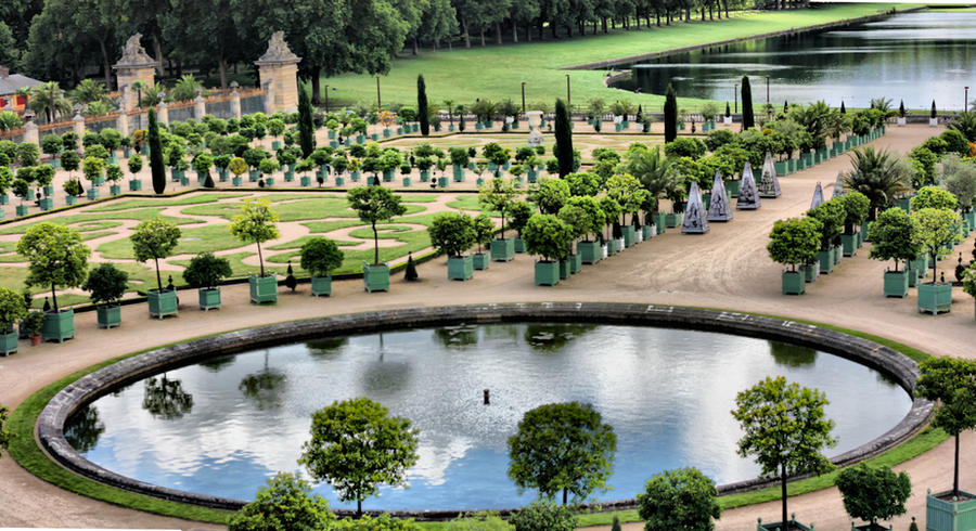 Фото: Версальский сад