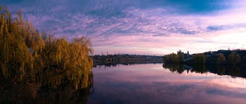 Sahalin lake, Donetsk