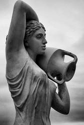 Woman with vase,Donetsk