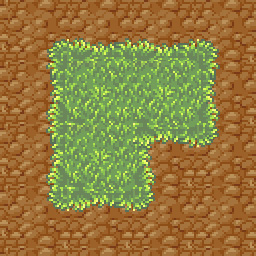 Grass Pixelated Tileset by daily-telegraph