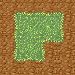 Grass Pixelated Tileset by daily-telegraph
