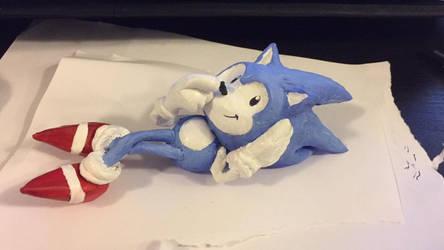 Toei Classic Sonic Sculpture
