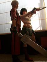 Dante and Lady - DMC3 by MuzzaThePerv