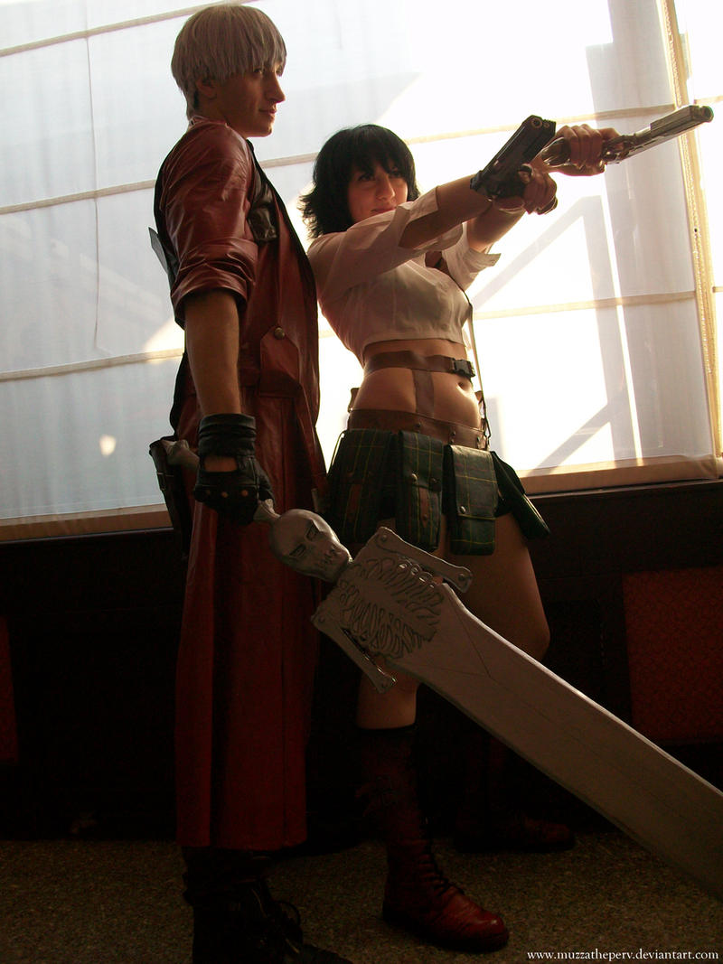 Dante and Lady - DMC3 by MuzzaThePerv