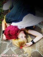 Natsu x Lucy by MuzzaThePerv