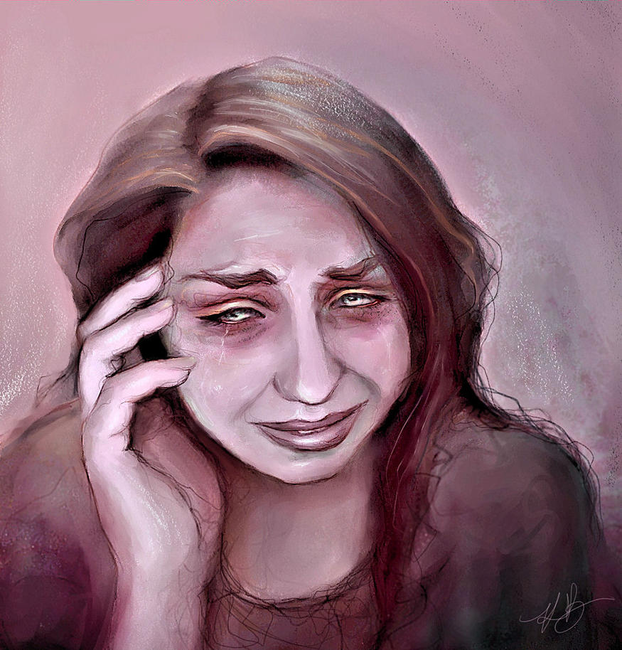 Crying Study II by Equinya