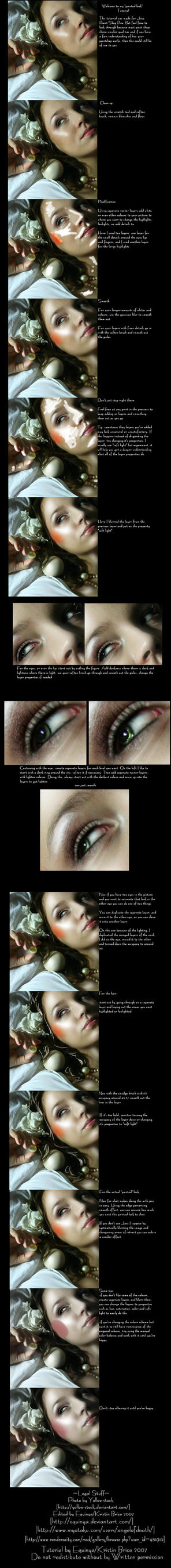 Painted Look Tutorial by Equinya