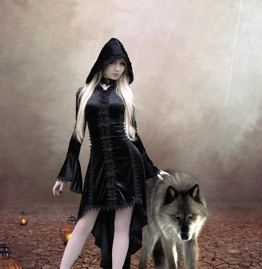 With Wolf by Nikolett89
