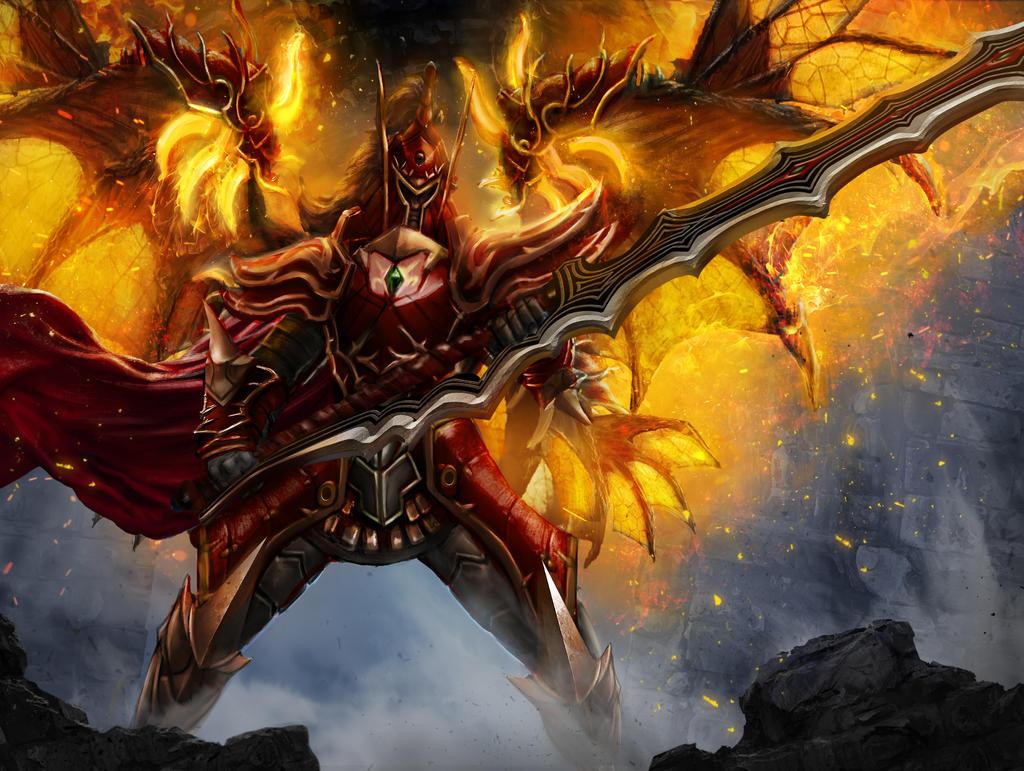 Demon Warrior by DanielClasquin