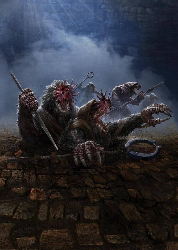 Mole attack by DanielClasquin