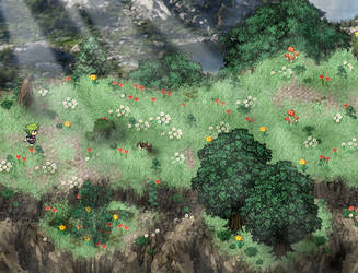 RPG Maker: Parallax Mountain Map by Zachfoss