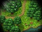 RPG Maker: Parallax Forest Map