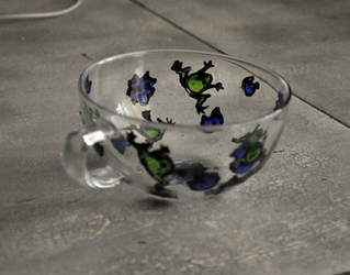 frog cup by Nadeshiko-Haruchene