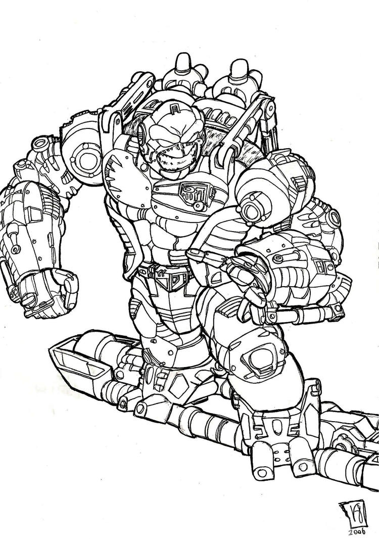 transformer gears coloring pages - photo#7