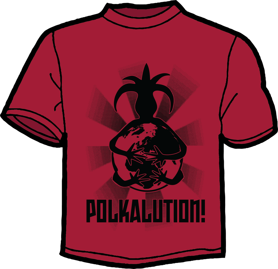ROD2013 - POLKALUTION! - T-Shirt Design by brego