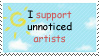 Unnoticed Artists stamp by Himawari-San