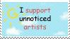 Unnoticed Artists stamp by Himawari-San