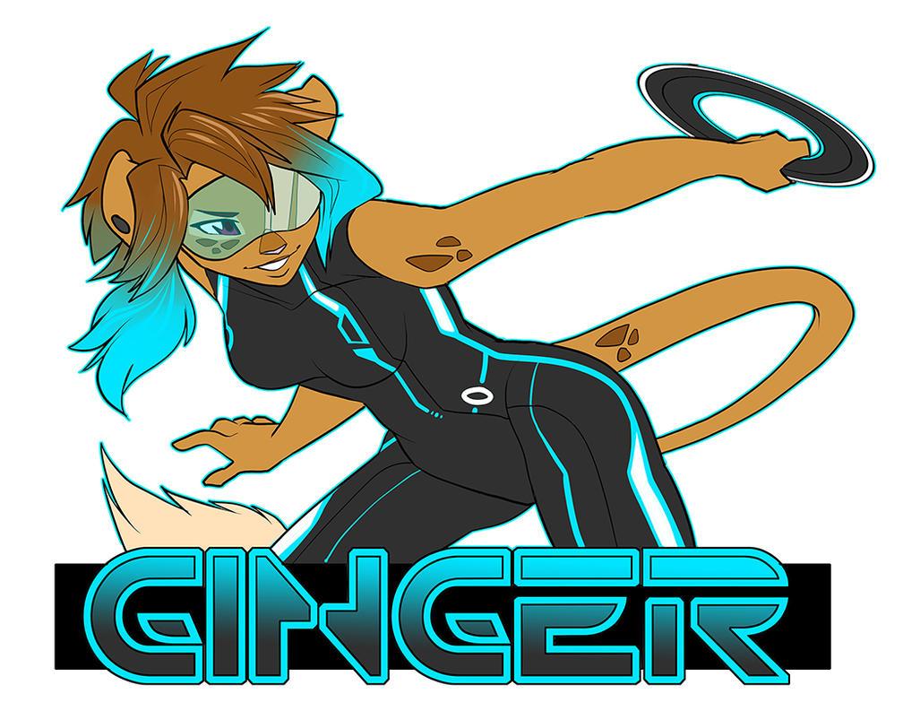 OC - Ginger Badge by starinthegutter