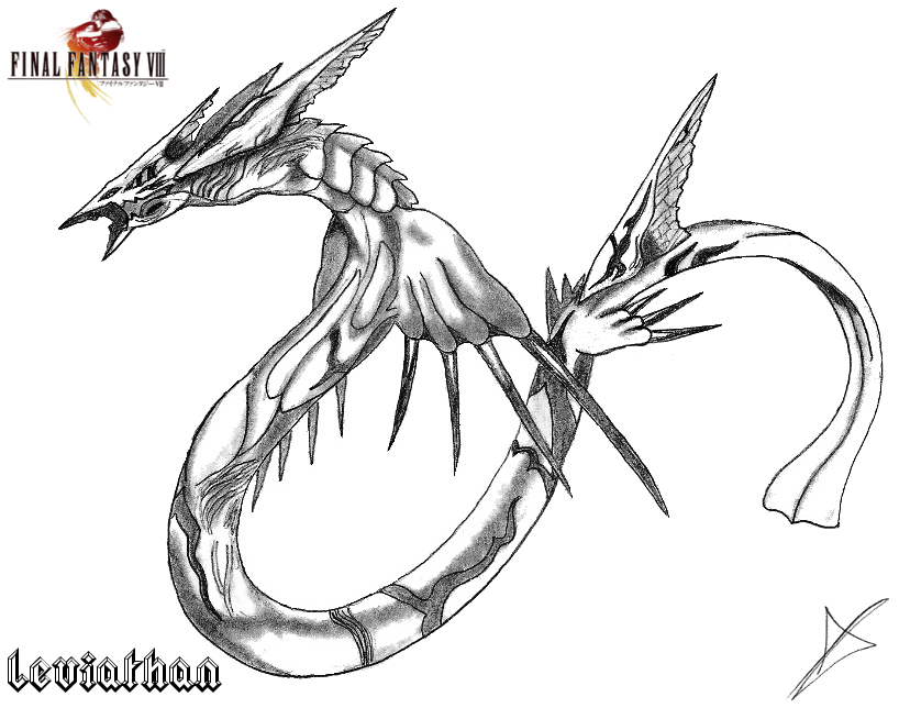 leviathan coloring pages - photo#19