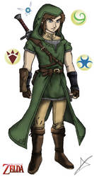 The New Hero of Hyrule-Link by AndsportsART