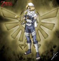 Sheik - The Legend of Zelda by AndsportsART
