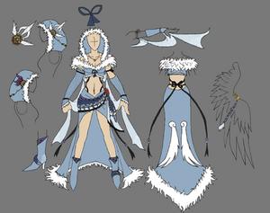 New Design Rinoa Witch - FF VIII