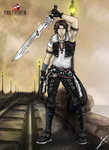 Squall - The Knight of the Witch Final FantasyVIII