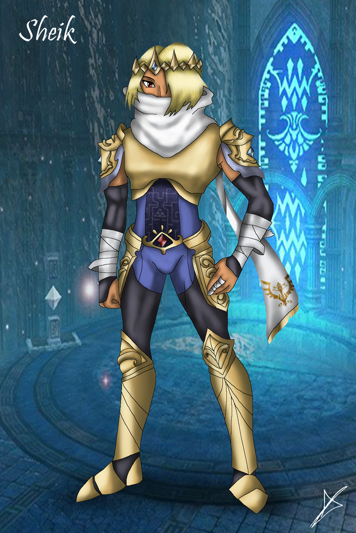 Sheik - The Prince of Breed Sheikah by AndsportsART