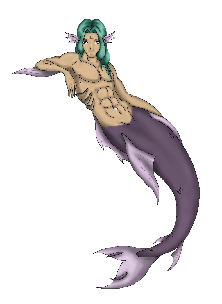 My Merman - My Little Brother by AndsportsART