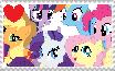 I Love Ponies Stamp by MockingjayBases