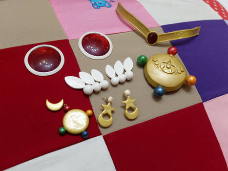 Sailor Moon Crystal Accessories