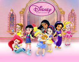 Disney Little Princess by ArsalanKhanArtist