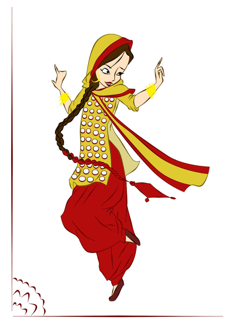 Larki Punjaban: Sohniii by ArsalanKhanArtist