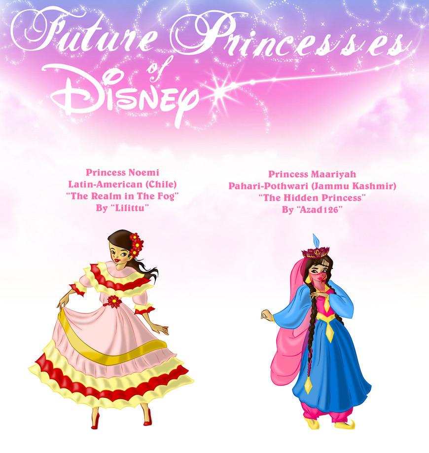 Future Princesses of Disney by ArsalanKhanArtist on DeviantArt