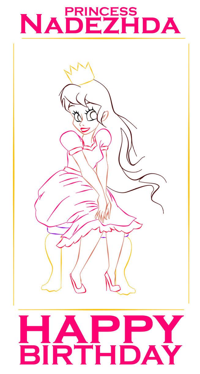 Princess Nadezhda by ArsalanKhanArtist