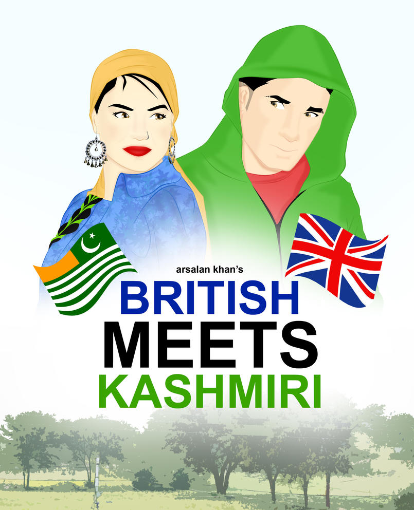 British meets Kashmiri by ArsalanKhanArtist