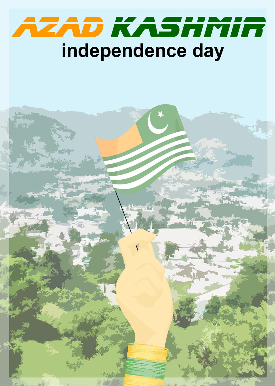 Azad Kashmir independence day by ArsalanKhanArtist