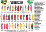 Traditional Dresses of South Asia