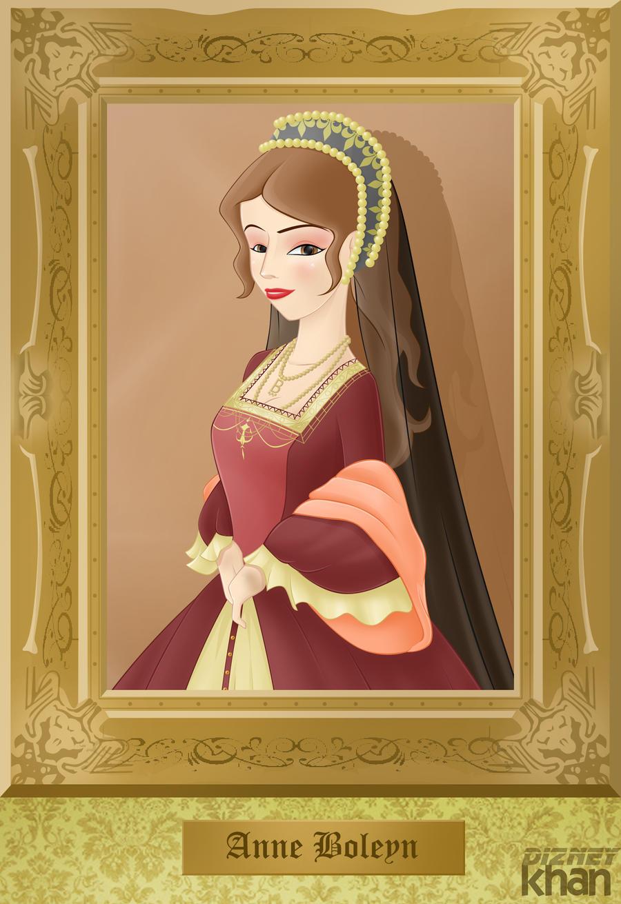 Anne Boleyn (2nd wife of Henry VIII) by ArsalanKhanArtist