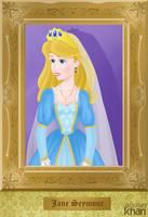Jane Seymour (3rd wife of Henry VIII) by ArsalanKhanArtist