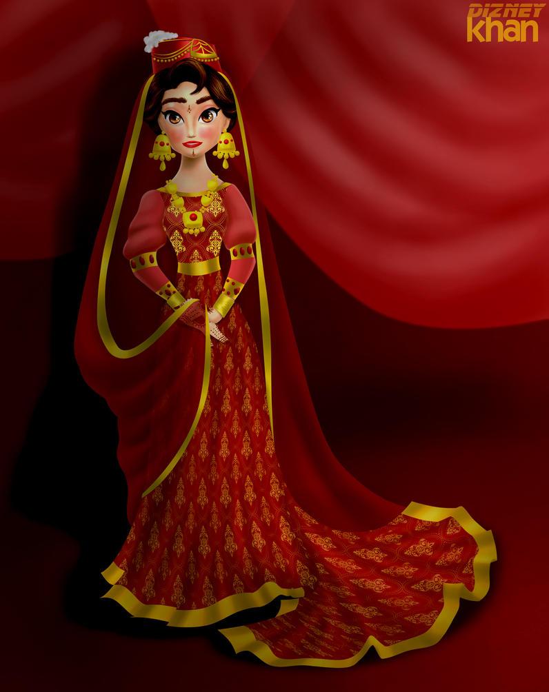 Princess Maariyah in Bride in colour version by ...