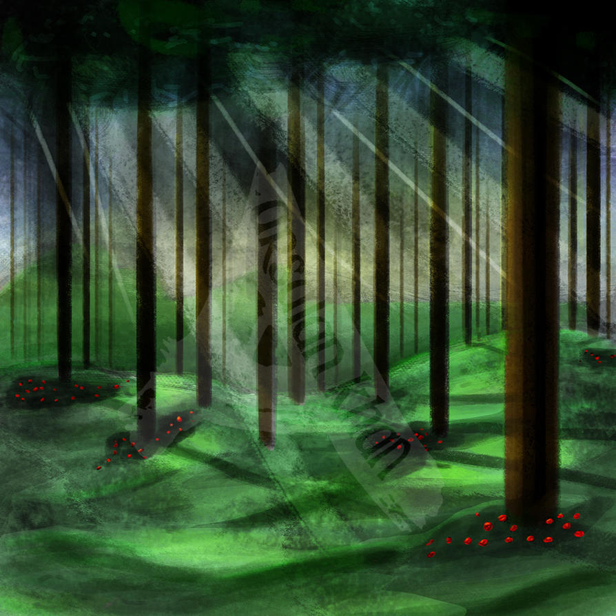 Magical Forest by ArsalanKhanArtist